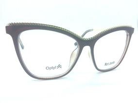 0d7a19fe9 Oculo Grau Feminino Gatinho Quadrado - Óculos no Mercado Livre Brasil