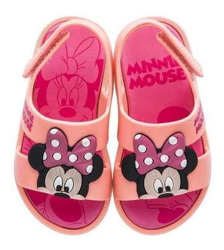 Sandália Mickey E Minnie Diversão + Casa Do Mickey