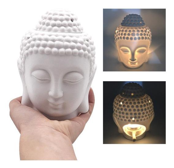 Cabeza De Buda Porta Incienso Difusor Yoga Feng Meditar Spa