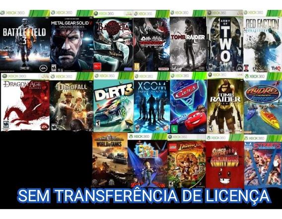 Battlefield 3 Mais 18 Jogos Midia Digital Xbox 360