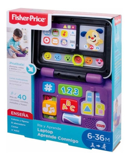Fisher Price Laptop Aprende Conmigo Juguete