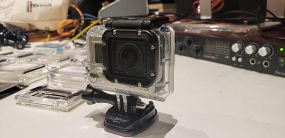 Camera Gopro Hero 3 E Visor Lcd + 3 Baterias E Acessórios