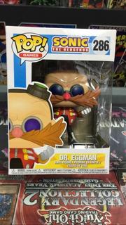 Funko Pop! Games Sonic - Dr.eggman #286 -original
