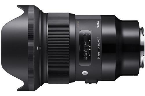Lente Sigma 24mm F/1.4 Dg Hsm Art Para Sony E
