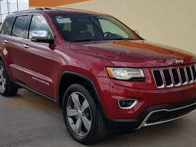 Jeep Grand Cherokee 3.6 Limited Lujo V6 Gps Qc R20 Led 2014