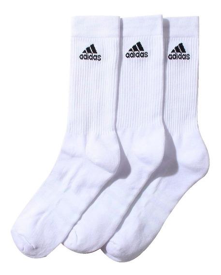 Medias adidas Clásicas X 3 Unidades Blanco