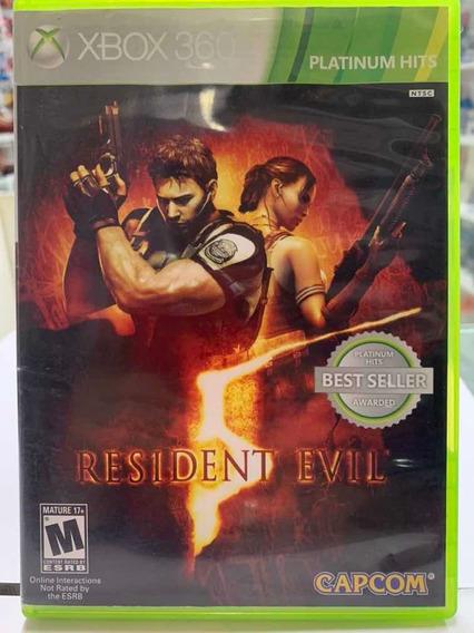 Residente Evil 5 Xbox360 Seminovo