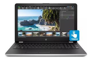 Notebook Hp Ryzen 5 Quad 8gb 128gb Ssd 15.6 Touch Windows 10