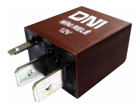 Mini Relé Auxiliar 12v Dni 0123 Rele 4 Terminais Sem Suporte