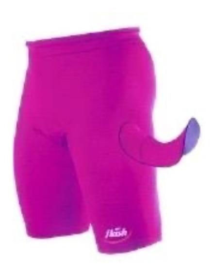 Calza Ciclista Para Damas Con Badana Marca Flash !!