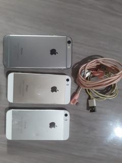 Lote De iPhone´s iPhone 6 E 5s Com Defeito Leia A Descrição