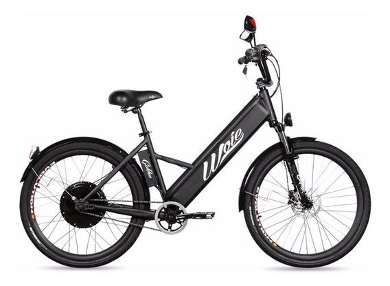 Bicicleta Elétrica Woie Golden Fab. No Brasil - Preto Fosco