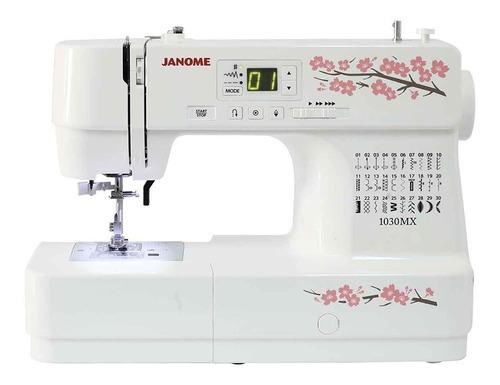 Máquina De Coser Computarizada Janome 1030mx