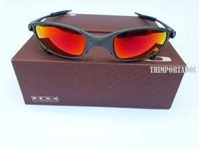 e47370964 Óculos De Sol Oakley Juliet Double Xx Squared Badman Masculi