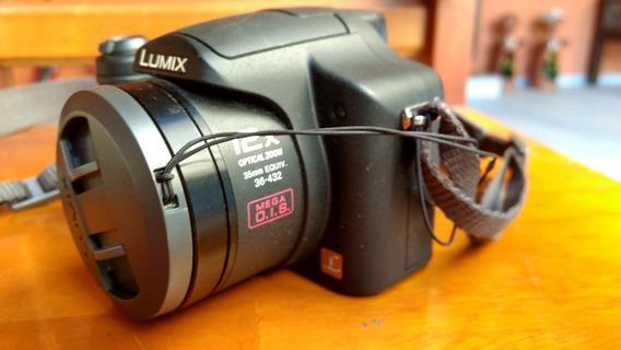 Câmera Semi Profissional Lumix