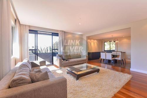 Apartamento Com 3 Dormitórios Para Alugar, 241 M² Por R$ 6.200,00/mês - Bacacheri - Curitiba/pr - Ap0916