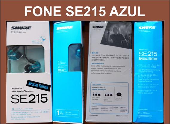 Fone Shure Se215 Azul