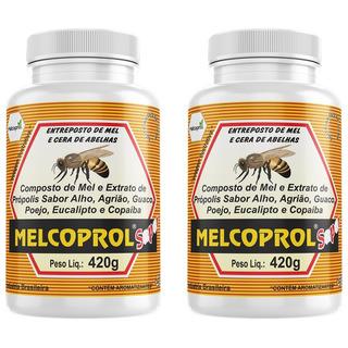 Melcoprol Super - 2x 420 Gramas - Melcoprol