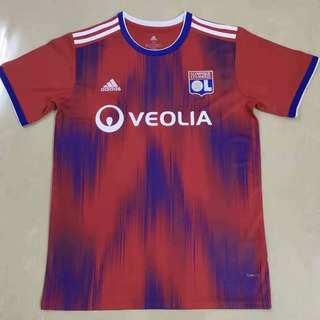 Camisa Lyon Azul E Vermelha 2019/20 - Frete Grátis