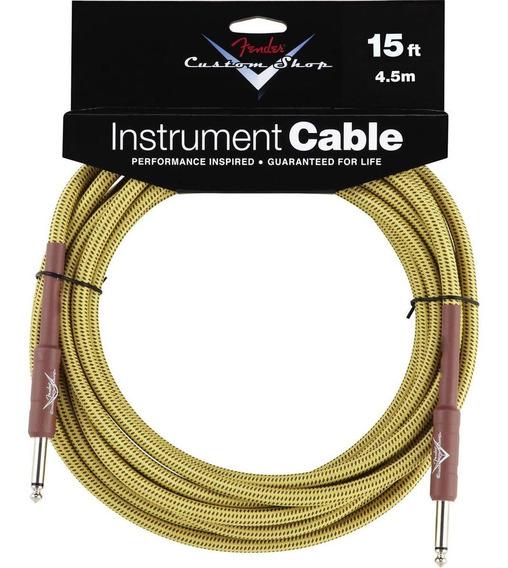 Cable Para Instrumento Fender Custom Shop Fg15t