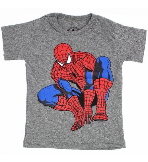 Camiseta Infantil Personagens Super Heróis Cod: 029