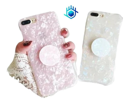 Case Marmol + Pop iPhone Galaxy Huawei Dama Hombre Mujer