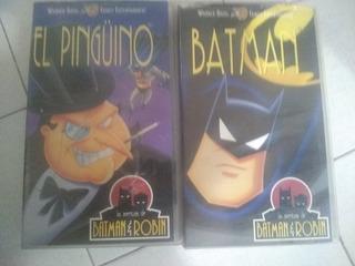 Película Original En Vhs Batman + Guasón S/c Dib.anim.