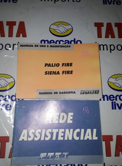 Manual De Instruções Palio Fire Siena -4355 Cx76