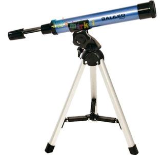 Telescopio Galileo Italy F300 X30 Refractor Con Tripode
