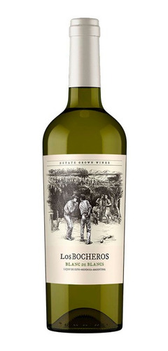 Imagen 1 de 1 de Vino Los Bocheros Blanc De Blancs 750ml Local