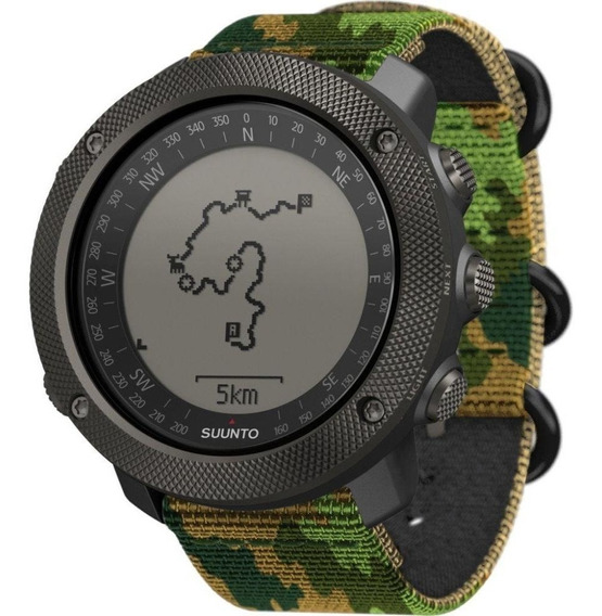 Relógio Suunto Traverse Alpha Militar Ss023445000