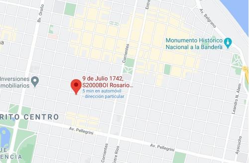 Monoambiente Con Balcon - Zona Centro De Rosario / Financiacion Hasta 24 Cuotas