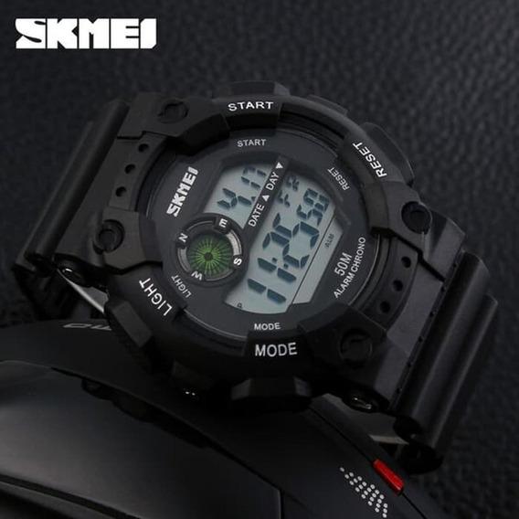 Relógio Skmei Esportivo Led Prova Dágua Original Promoção