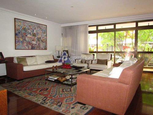 Apartamento À Venda, 4 Quartos, 2 Suítes, 4 Vagas, Leblon - Rio De Janeiro/rj - 19067