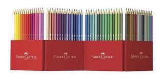 60 Colores Hexagonales Faber Castell Oferta
