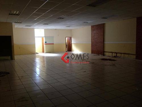 Imagem 1 de 16 de Galpão Para Alugar, 465 M² Por R$ 8.200/mês - Santa Terezinha - São Bernardo Do Campo/sp - Ga0130