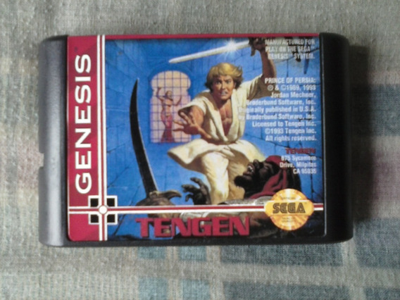 Mega Drive - Prince Of Persia 1