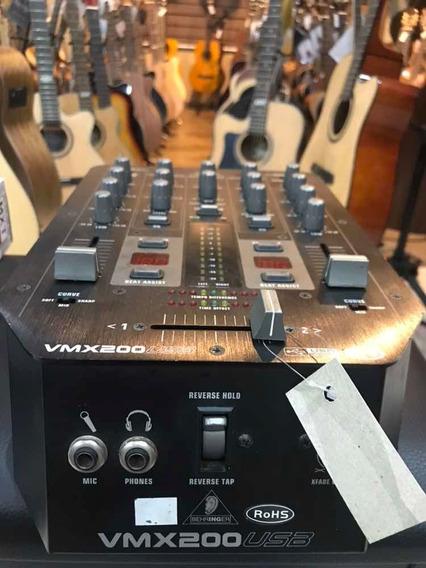 Mixer Behringer Vmx200 Usb