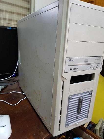 Cpu Antiga Pentium Placa Mae G31-m7 Te Biostar