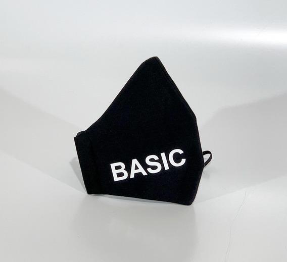 Cubre Bocas Seguro, Lavable Accesorio De Moda Basic Juvenil