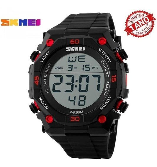 Relógio Masculino Skmei Digital 1130 + 1 Ano De Garantia