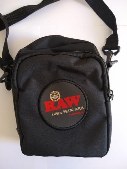 Shoulder Bag Raw Preta - Pronta Entrega