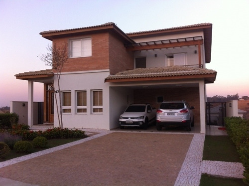 Belíssima Casa Em Condomínio Fechado - 250252c