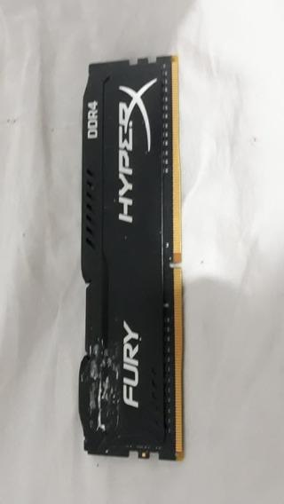 Memória Ram Ddr4 Hyperx Fury 4gb 2133mhz