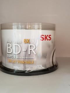 Blu Ray Bd-r Akira O Smartbuy O Sks Inkjet 25 Gb 6x X 10