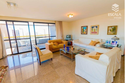 Apartamento Com 3 Quartos À Venda, 170 M² , Móveis Projetados, 3 Vagas, Financia - Aldeota - Fortaleza/ce - Ap1071