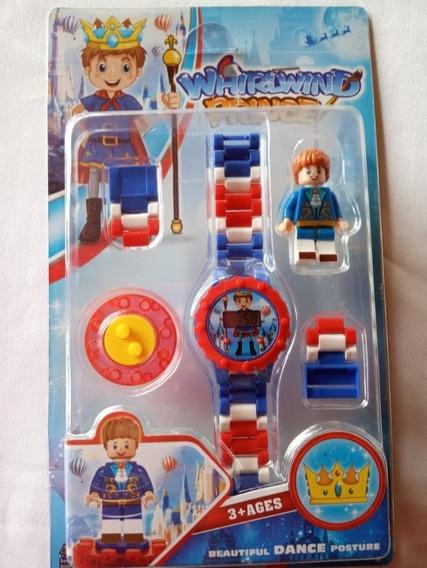 Relógio Digital Infantil + Boneco Lego Do Pequeno Príncipe
