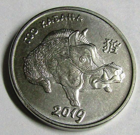 Transnistria Moneda Año Del Cerdo, Jabali 1 Rublo 2018 Unc
