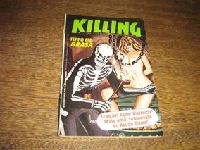 Killing Ano 1 Nº 2 Junho 1981 Editora Vecchi Original