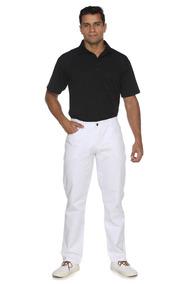 Calça Branca Masculina Tamanho 54